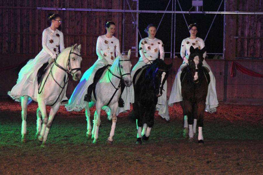 Das war unsere 9. Pferdeshow im Lichterglanz